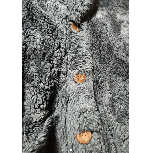BEAMS(ビームス)の未使用 BEAMS ボアブルゾン ボアカーディガン メンズのトップス(ニット/セーター)の商品写真