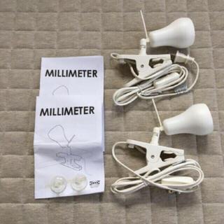 イケア(IKEA)のIKEA/クリップライト2個セット/MILLIMETER(その他)