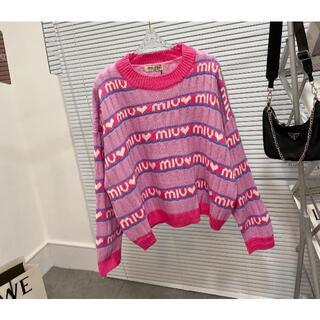 miumiu - 超人気 MIUMIU  セーター  ww3