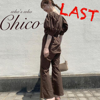 who's who Chico - 新品🤎¥7590【Chico】パワショルコンビネゾン BR