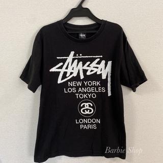 STUSSY - STUSSY ステューシー Tシャツ 黒 半袖