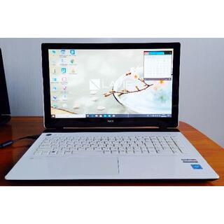 エヌイーシー(NEC)のWin10 LAVIE/3215U/8G/500G/DVD/WLAN/カメラ(ノートPC)