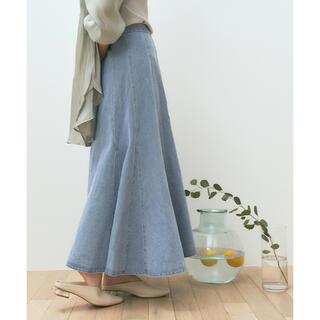 ティティベイト(titivate)のデニムソフトマーメードスカート(ロングスカート)