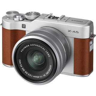 富士フイルム - FUJIFILM ミラーレス一眼カメラ X-A5レンズキット X-A5LK-BW