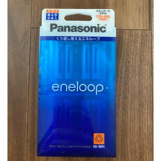 パナソニック(Panasonic)のエネループ スタンダード 単4  8本入り(その他)