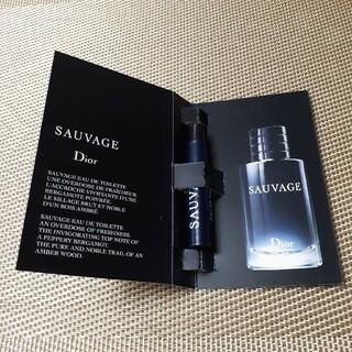 クリスチャンディオール(Christian Dior)のディオールソヴァージュサンプル(香水(男性用))