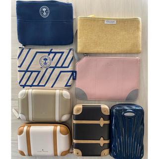 ANA(全日本空輸) - ANA ファースト&ビジネスクラスのアメニティ用ポーチのセット