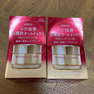 コーセー(KOSE)のグレイスワン リンクルケア モイストジェルクリーム 2個セット(オールインワン化粧品)