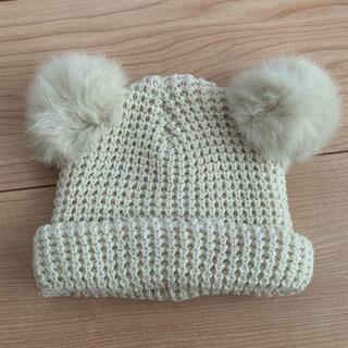 プティマイン(petit main)のプティマイン 帽子 ニット帽 46cm(帽子)
