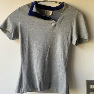 Vivienne Westwood - ビビアンウェストウッド●TシャツUK10●グレーシンプル