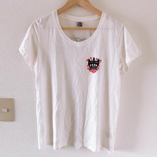 ロデオクラウンズワイドボウル(RODEO CROWNS WIDE BOWL)のロゴプリント Tシャツ(Tシャツ(半袖/袖なし))