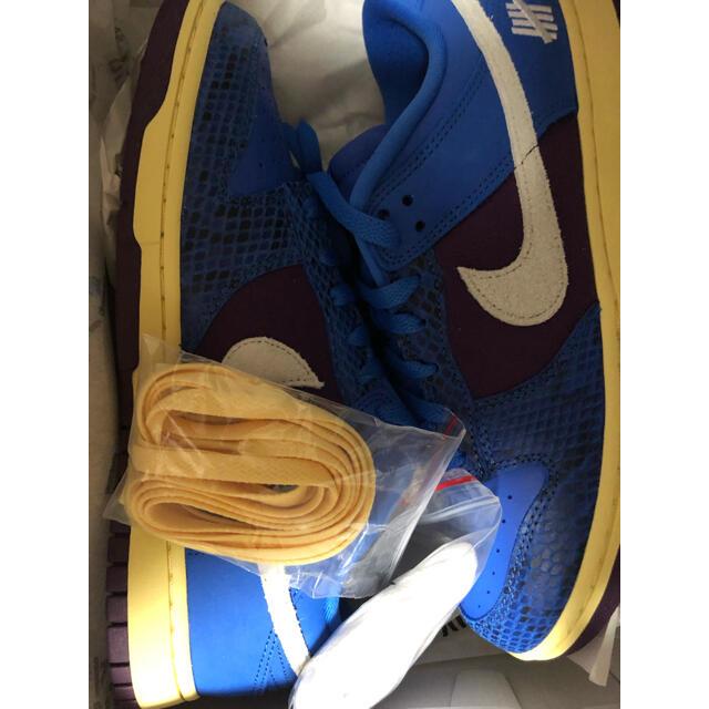 NIKE(ナイキ)のナイキ×アンディフィーテッド DUNK LOWダンクロー メンズの靴/シューズ(スニーカー)の商品写真
