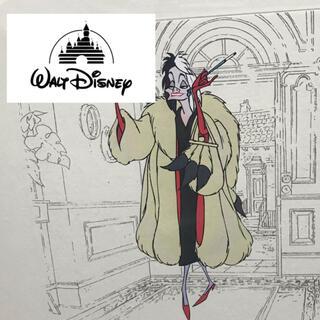 Disney - Disney  ディズニー セル画 『クルエラ・ド・ヴィル』 希少 美品 箱付き