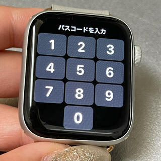 Apple Watch - Apple Watch SE (GPSモデル) - 44mmシルバー
