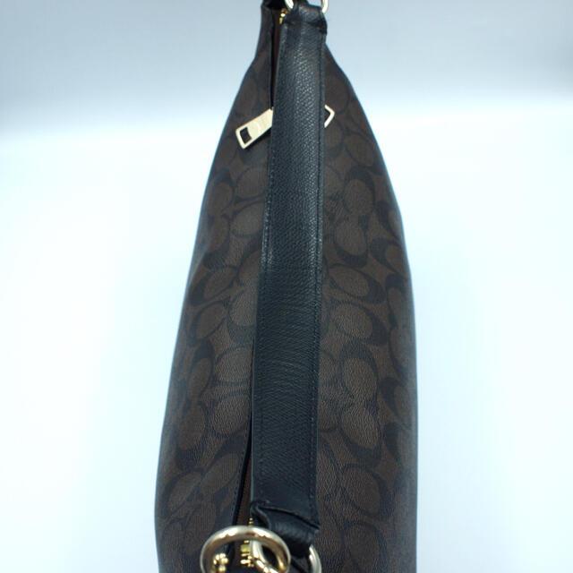 COACH(コーチ)の★セール中【美品】コーチ トートバッグ ハンドバッグ PVC シグネチャー 茶色 レディースのバッグ(トートバッグ)の商品写真