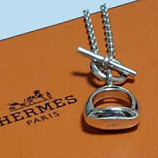 Hermes - 希少☆HERMES エトリール シルバー925ネックレス