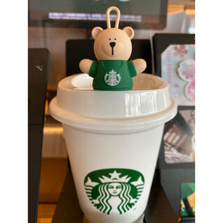 Starbucks Coffee - リユーザブルカップ専用ドリンクホールキャップベアリスタ&リユーザブルカップスタバ