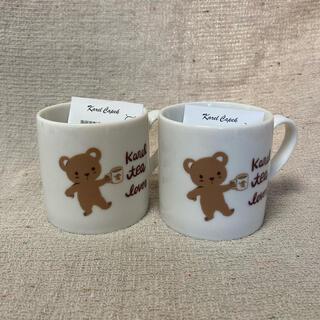 カレルチャペック紅茶店ノベルティ ペアマグカップ