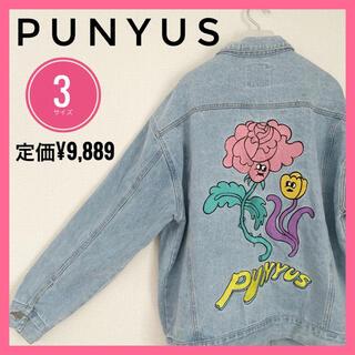 プニュズ(PUNYUS)の【タイムセール】PUNYUS プニュズ デニムジャケット 薔薇刺繍 4L 5L(Gジャン/デニムジャケット)