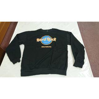ハードロックカフェ トレーナー 長袖 hardrockcafe スウェット XL