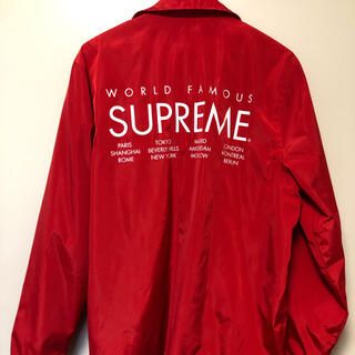 Supreme - supreme コーチジャケット Mサイズ 15SS