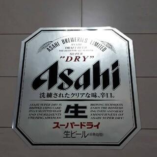 アサヒ(アサヒ)のアサヒスーパードライ生ビール特大ステッカー 1枚 非売品(シール)
