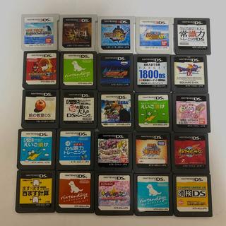 ニンテンドー3DS - 3DSソフト DSソフト まとめ売り 25点