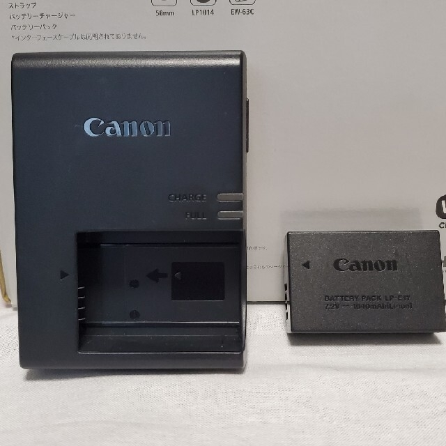 Canon(キヤノン)の【美品】Canon EOS kiss x9 ボディ+標準レンズ スマホ/家電/カメラのカメラ(デジタル一眼)の商品写真