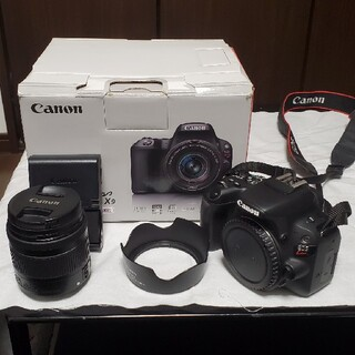 Canon - 【美品】Canon EOS kiss x9 ボディ+標準レンズ