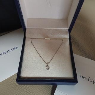 ヴァンドームアオヤマ(Vendome Aoyama)のヴァンドーム青山 ダイヤモンド ネックレス 0,16ct(ネックレス)