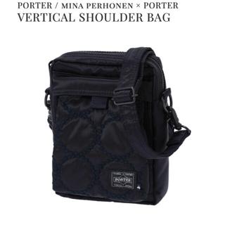 ミナペルホネン(mina perhonen)のミナペルホネン ポーター ショルダーバッグ shoulder bag  ネイビー(ショルダーバッグ)