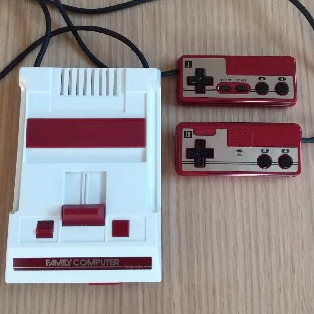 任天堂(ニンテンドウ)のニンテンドークラシックミニ ファミリーコンピュータ エンタメ/ホビーのゲームソフト/ゲーム機本体(家庭用ゲーム機本体)の商品写真