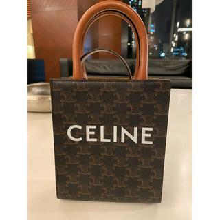 celine - CELINE ミニ トリオンフキャンバス バーティカルカバ