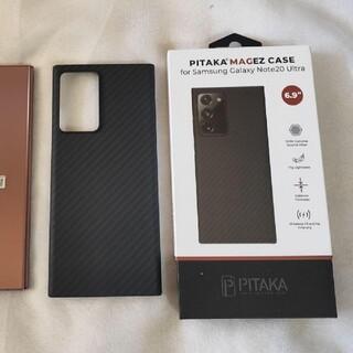 ギャラクシー(Galaxy)のGalaxy note20 ultra pitaka ケース ほぼ未使用品です。(Androidケース)