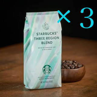 Starbucks Coffee - STARBUCKS【スターバックス】コーヒー豆 THREEREGIONBLEND