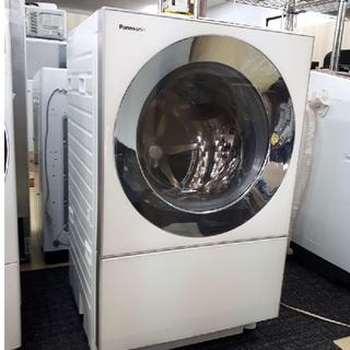Panasonic - ドラム式洗濯機 乾燥機 人気のキューブル Cuble ななめドラム 温水泡洗浄
