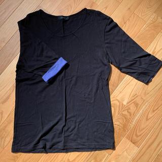 レイジブルー(RAGEBLUE)のカットソー 五分袖 L   レイジブルー(Tシャツ/カットソー(七分/長袖))