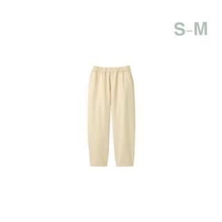 ムジルシリョウヒン(MUJI (無印良品))の無印良品    デニムワイドテーパードパンツ  男女兼用S-M・生成(デニム/ジーンズ)