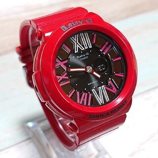 ベビージー(Baby-G)の超美品【CASIO/BABY-G】デジアナ レディース腕時計 BGA-160(腕時計)