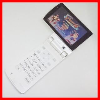 フジツウ(富士通)のFOMA F904i ヨコモーション ボンバーマン 回転ガラケー 富士通 ドコモ(携帯電話本体)