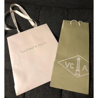 ヴァンクリーフアンドアーペル(Van Cleef & Arpels)のヴァンクリーフアンドアーペル♡ショップ袋(ショップ袋)