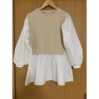 ジーユー(GU)の*GU トップス(シャツ/ブラウス(半袖/袖なし))