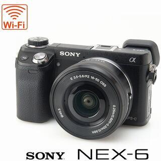 SONY - Wi-Fi★NEX-6 EVF ミラーレス一眼