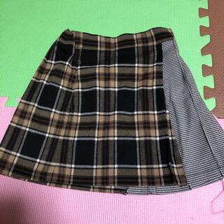 GU - GU チェックのスカート