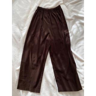 ロキエ(Lochie)のvintage velour EZ pants(カジュアルパンツ)