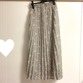 グレイル(GRL)の花柄ロングスカート(ロングスカート)