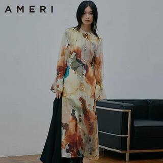 Ameri VINTAGE - AMERI 新品 ins大人気 レディースインクアート ワンピース