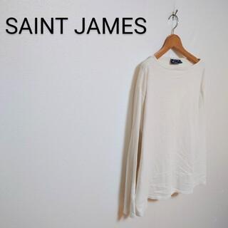 セントジェームス(SAINT JAMES)のSAINT JAMES ポートネックカットソー バスクシャツ(Tシャツ/カットソー(七分/長袖))