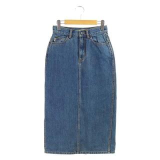 マークジェイコブス(MARC JACOBS)のマークジェイコブス デニムスカート タイト ロング 25 青 ブルー(ロングスカート)