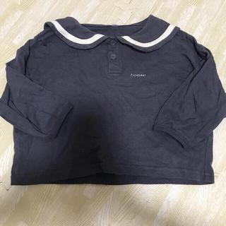 フタフタ(futafuta)のバースデイ セーラー襟トップス(Tシャツ/カットソー)